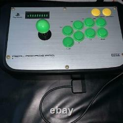 Real Arcade Pro. Hori Controller Video Game PlayStation 2 PS2 Fighting JP