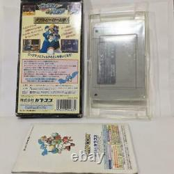 Rockman Megaman & Forte Japan Nintendo Super Famicom SFC SNES video game FedEx