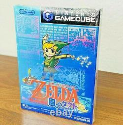 SEALED Japanese Legend of Zelda Takt Of Wind Waker Nintendo Gamecube Video Game