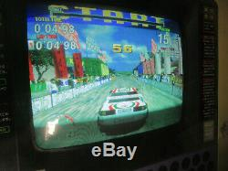 SEGA RALLY 4 STACK MODEL 2A WORKING jamma arcade video game pcb board CZ