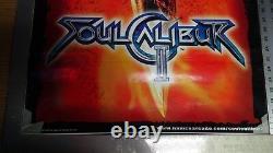 SOUL CALIBUR 2 Arcade Video Game Side Art-set of 2-NEW ORIGNAL-not repro- RARE