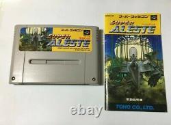 SUPER ALESTE Nintendo Super Famicom SFC SNES Japan video game shooting FedEx