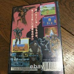 Sega Mega Drive Golden Axe III 3 NTSC-J Video Game Megadrive withBox