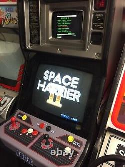 Sega Mega Tech arcade machine video game