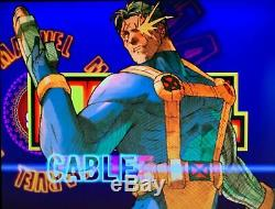 Sega Naomi Jamma Arcade Video Game Marvel VS Capcom 2 +Motherboard +IO Board