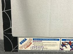Sega Spider-Man the Videogame ORIGINAL Arcade Video Game Bezel Spiderman