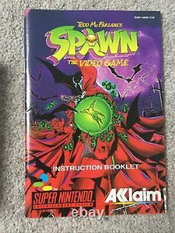 Snes Todd McFarlanes Spawn The Video Game Super Nintendo