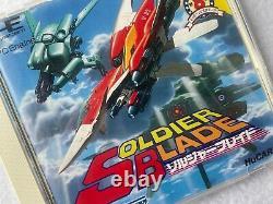 Soldier Blade NEC PC Engine HUDSON SOFT HuCARD Japan video game shooting FedEx