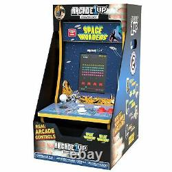 Space Invaders Countertop Arcade 1up Countercade Video Game New