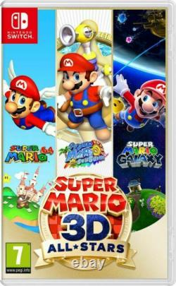 Super Mario 3D All-Stars Video Game for Nintendo Switch (New & Sealed)