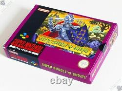 Super Nintendo Snes Super Ghouls'n Ghosts Computer Video Game Pal Bandai