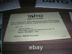 Taito Bubble Bobble IBM-Pc Xt At Tandy 1000 1989 Video Game Floppy Disk 5.25