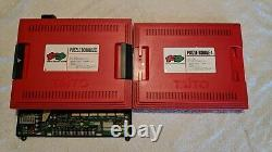 Taito F3 System Motherboard + Puzzle Bobble 2X and 4 Arcade PCB Video Game Board