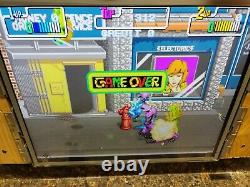 Teenage Mutant Ninja Turtles Video Arcade Game PCB, Atlanta #491