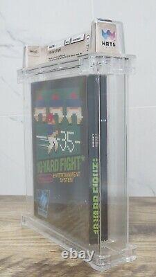 Ten Yard Fight Football Nintendo NES CIB Video Game! Wata Graded! 10-Yard Sports