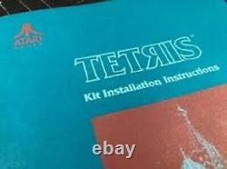 Tetris Atari Arcade JAMMA Video Game PCB Board + Original Manual