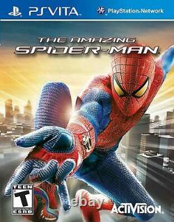 The Amazing Spider-Man PS Vita Playstation Video Game UK Release