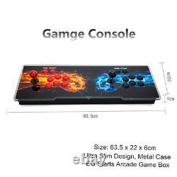 UK 2021 New 8000/4263/4500 Games Pandora's Box Video 3D Games HD Arcade Consoles