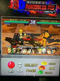 UK 3399in1 Games Pandora's Box 11s Retro 3D HD USB Video Arcade Console 6 9s VGA