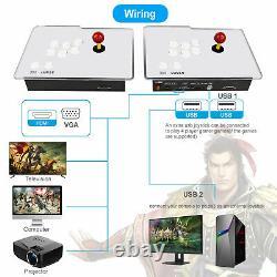 UK 8000 in 1 Games Pandora's Box WiFi Retro 3D HD Video Arcade Console 2 Panel