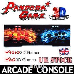 UK Pandora's Box 20s 4263 In 1 HDMI Video Games Arcade Console with Sticks 3P+4P