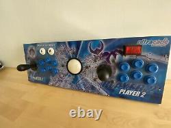 Ultracade Arcade Video Game 2-Player Control Panel Board Joystick Ball Operator