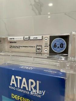 Unopened Defender Atari 2600 Sealed Video Game! Wata Graded! 1982 USA Williams