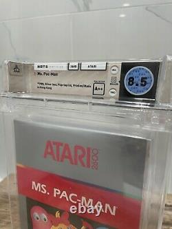 Unopened Ms. Pacman Atari 2600 Sealed Video Game! Wata Graded 8.5! 1983 Seal A++