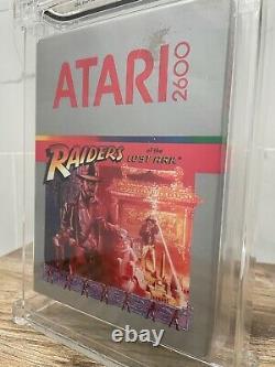 Unopened Raiders of the Lost Ark Atari Sealed Video Game! Wata Graded! 1982