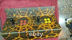 Used Control Panel for PRIMAL RAGE Video Arcade Game. Atlanta (#46)