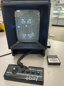 Vectrex Arcade Home Video Game Console Model HP 3000 With2 Games. Tested Working