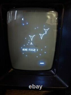 Vectrex Video Arcade Game System Console, 1982, Minestorm, Control Panel + more