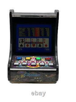 Video Poker Slot Machine 7 Casino Games in 1 ARCADE