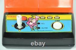 Vintage 1983 Coleco Donkey Kong Jr Tabletop Arcade Game System See Video