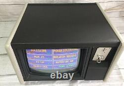 Vintage Merit Megatouch Video Arcade Coin Operated Tabletop Touch Screen Gaming