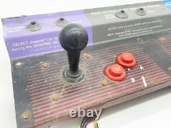 Vintage Video Game Arcade Cabinet Nintendo Playchoice 10 Populated Control Panel