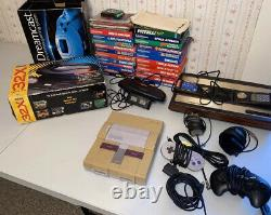 Vintage Video Game Lot Intellivision Atari Sega Genesis Nintendo See Desc
