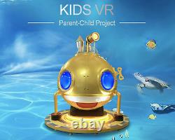 Virtual Reality Kids Submerging VR Simulator 9D 360 degree Arcade Game SEE VIDEO