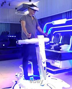 Virtual Reality Vibrating VR Simulator 9D Shooting Motion Arcade Game SEE VIDEO