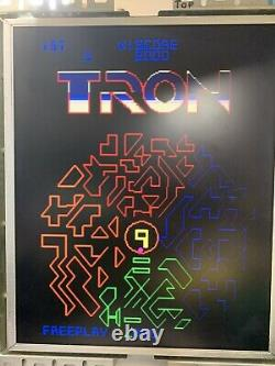 WORKING Tron PCB, New Cables, Free Play Rom, Midway ARCADE Video game board